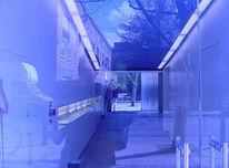 Fotografie, Baum, Abstrakt, Glas
