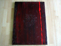 Buch, Acrylmalerei, Anthik, Abstrakt