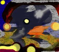 Digital, Abstrakt, Digitale kunst, Öffnung