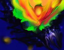 Abstrakt, Digital, Digitale kunst, Amaryllis