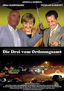 Plakatkunst, Ordnungsamt, Merkel, Konzeptkunst