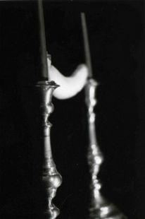 Kerzen, Fotografie, Dunkel, Schwarz weiß