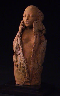 Skulptur, Figural, Terrakotta, Keramik