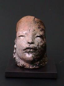Skulptur, Figural, Keramik, Ton
