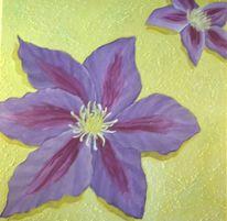 Blumen, Stillleben, Malerei, Sommer