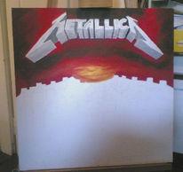 Malerei, Metallica,