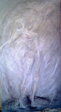 Traum, Wircklichkeit, Malerei, Figural