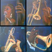Figural, Malerei, Jazz