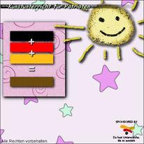 Gold, Rot schwarz, Braun, Deutschland