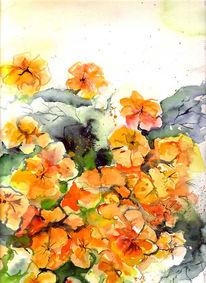 Malerei, Warten, Sommer