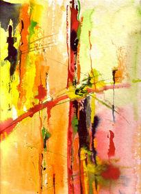 Kreuz, Aquarellmalerei, Malerei,