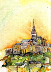Mont, Burg, Kloster, Landschaft