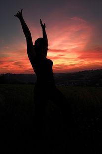 Menschen, Fotografie, Sonnenuntergang