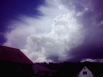 Gewitter, Himmel, Landschaft, Wolken
