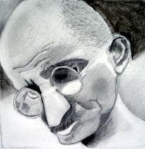 Portrait, Loft, Studie, Skizzenblock