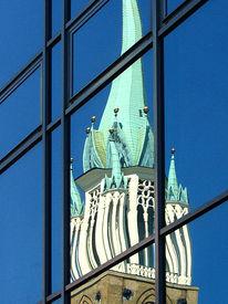Architektur, Fotografie, Spiegelbild
