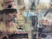 Malerei, Spaziergang, Abstrakt