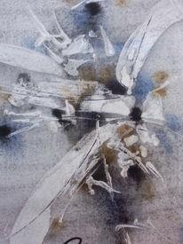 Abstrakt, Malerei, Weg
