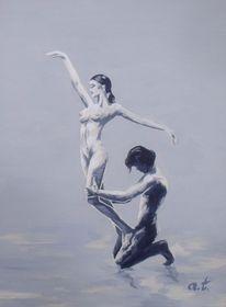 Akt, Tanz, Balance, Beziehung