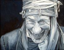 Figural, Mann, Ölmalerei, Kultur