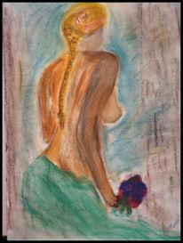 Fantasie, Akt, Pastellmalerei, Zeichnungen