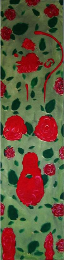Blumen, Malerei, Figural, Hoffnung