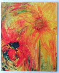 Blumen, Explosion, Vernissage, Farben
