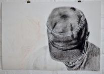 Grau, Portrait, Menschen, Kappe gesicht