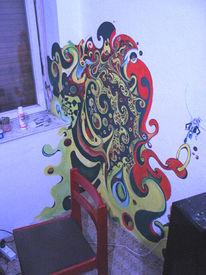 Malerei, Berlin, Wand