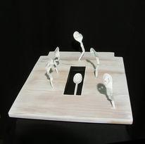 Plastik, Skulptur, Readymade, Begräbnis