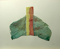 Abstrakt, Malerei, Acrylmalerei, Gipsbinden