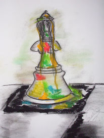 Zeichnung, Surreal, Zeichnungen, Spiel