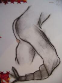 Zeichnung, Zeichnungen, Skorpion