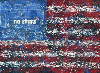 Stern, Streifen, Malerei,