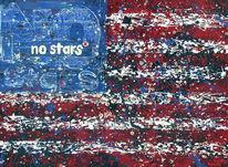 Stripes, Malerei, Stern,