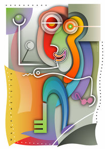 Symbol, Farbdruck, Formen, Figurativ