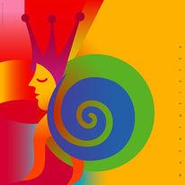 Figur, Gentle, Spirale, Formen