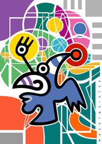 Struktur, Farben, Figurativ, Formen