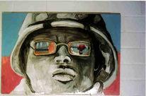 Figural, Malerei, Soldat