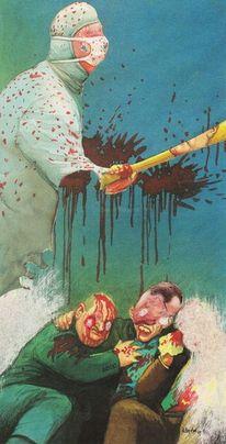 Geist, Blut, Gewalt, Malerei