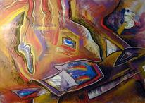 Abstrakt, Malerei, Konflikt