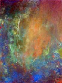 Malerei, Abstrakt, Urknall