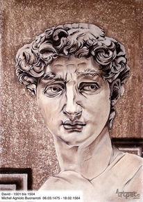 Skulptur, Zeichnung, Zeichnungen