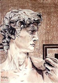 Zeichnung, Skulptur, Zeichnungen