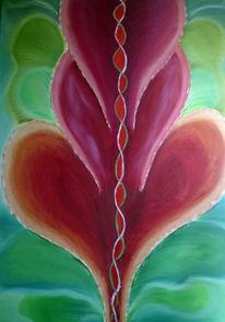 Kitsch, Malerei, Pflanzen,