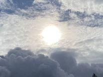Sonne, Himmel, Wolken, Fotografie