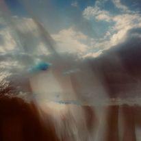 Himmel, Landschaft, Gesicht, Wolken