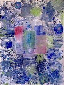 Glasscheiben, Murmel, Malerei, Zerbrechlich