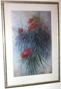 Lichtspiele, Reflexion, Malerei, Blumen