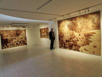 Intarsienbilder, Naturholz, Pinnwand,
